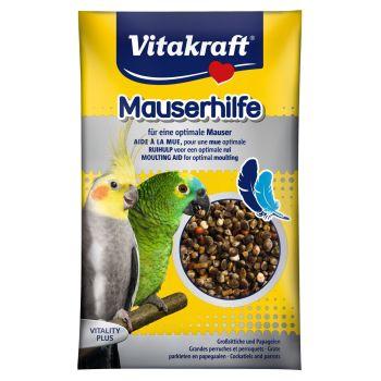 Витамины для средних и больших попугаев Vitakraft «Mauserhilfe» семена 25 г (при линьке)