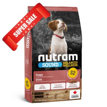 Сухой корм для щенков Nutram S2 Sound Balanced Wellness Puppy 2 кг