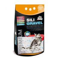 Наполнитель туалета для кошек Comfy Sili Gravel 3,8 л (силикагелевый)