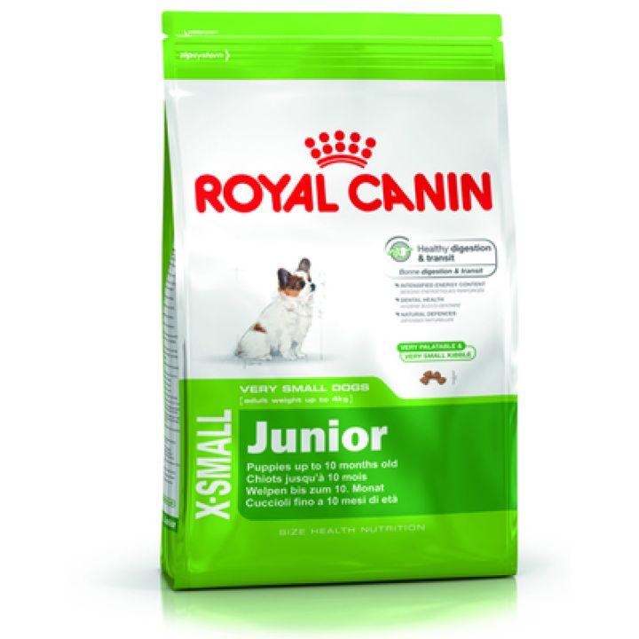Корм для собак Royal Canin X-Small Junior 0,5 кг